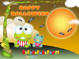 halloween wallpaper keroppi wallpaper hello kitty and friends