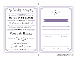 cheap wedding program wedding ideas wedding programs template per page x program
