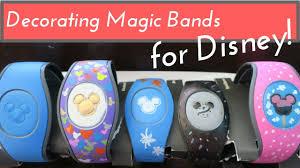 Decorating Magic Bands 2 0 for Walt Disney World