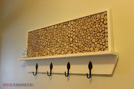 diy coat rack plans with feature area rogue engineer