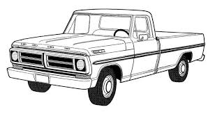 dodge truck coloring pages 40 free printable truck coloring pages