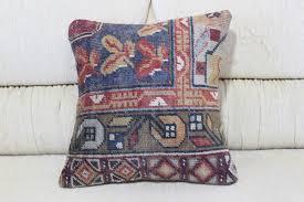 Turkish Home Decor Handmade Decorative Bedding Pillow 16x16 Bohemian Pillow Handmade