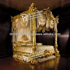 antique canopy bed antique furniture wood canopy carved bed with gold leaf bj rc03