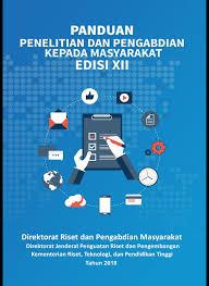 buku panduan be buku panduan pelaksanaan penelitian dan pengabdian kepada masyarakat