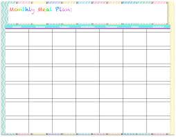 100 menu calendar template calendar monthly planner
