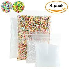 Fruit Vase Filler Amazon Com 4 Pack Slime Beads Supplies Fishbowl Beads Fish Bowl