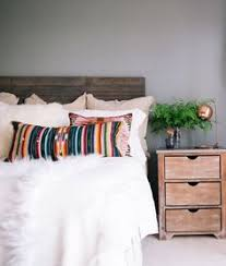 Uni Bedroom Decorating Ideas Throw Blanket Home U0026 Design Pinterest Rustic Wood Headboard