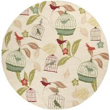 Outdoor Round Rug by Coastal Round Outdoor Rugs Rugs The Home Depot