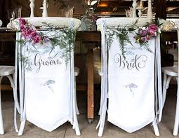 wedding chair signs custom wedding signs the knot shop