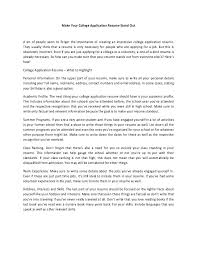 create resume for college applications resume college application best 25 resume for graduate