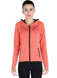 Hoodie With Thumb Holes Womens Full Zip Slim Fit Hooded Sports Jacket With Thumb Hole Oasap Com