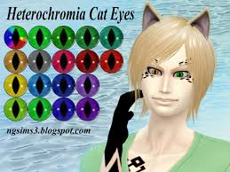 hair color to download for sims 3 ng sims 3 heterochromia cat eyes ts4 eyes accessories