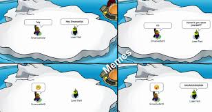 Club Penguin Memes - club penguin memes never see yourself episode 6 penguin castle