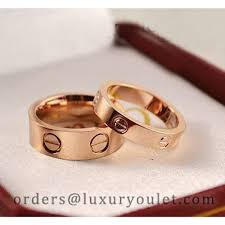 love rings pink images Cartier 18k pink gold love ring cartier love rings cartier jewelry jpg