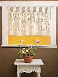 Crochet Valance Curtains 112 Best Crafts Crochet Curtains Images On Pinterest Crochet
