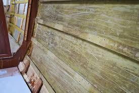 Spray Insulation For Basement Walls Spray Foam Insulation U2013 V Berth U0026 Forward Salon Matt U0026 Jessica U0027s