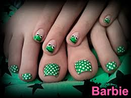 kermit nails cute nail design of kermit the frog the most