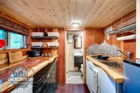 Tiny House Kitchen by Luke U0026 Tina U0027s Basecamp Tiny House