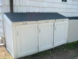 modern exterior trash can contemporary outdoor trash can sterilite