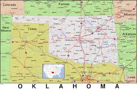 The Domain Map Oklahoma Ipl2 Stately Knowledge Facts About The United States