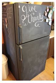 image result for can i paint my fridge with chalkboard paint