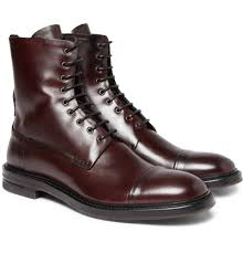 brown motorcycle boots for men dark chocolate brown allen edmonds dalton wingtip leather dress
