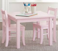 Pink Table L 47 Pottery Barn Table And Chairs Carolina Large Table 4