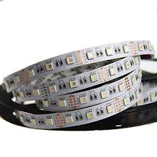 led strip lights rgbw 5m 4 colors in 1 led dc 12 24v smd 5050