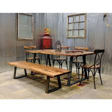 amerihome 6 piece rosewood dining set hcdts the home depot