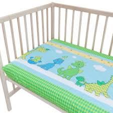 baby happy dinosaurs pati u0027chou cot crib bumper pad half