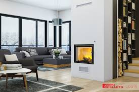 louis air 10 kw twin glass air fireplaces pellets and wood