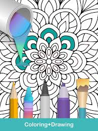100 mandala coloring pages android apps google play