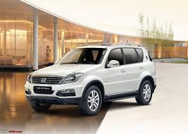 mahindra launches the ssangyong rexton 17 67 19 67 lacs page
