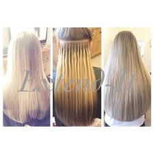 Before After Hair Extensions by Nano Tip Hair Extensions Extend It Extensions Bristol Prestige