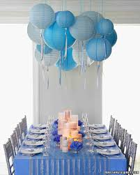 Bridal Shower Table Decorations by 22 Blue Bridal Shower Ideas That Are So Cool Martha Stewart Weddings