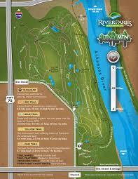 Mountain Map Maps U0026 Directions U2013 Tulsa U0027s Urban Wilderness Area