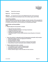 Retail Store Manager Resume Example You Can Start Writing Assistant Store Manager Resume By