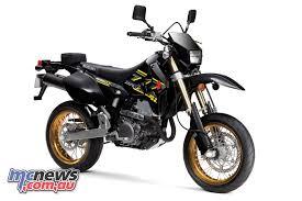 suzuki motorcycle black suzuki u0027s 2018 drz 400sm now available in australia mcnews com au