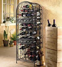 wine enthusiast renaissance wrought iron wine jail 63445 wine rack