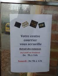 bureau de poste ouvert le samedi apr midi la poste ouverte le samedi 08 12 2015 ladepeche fr