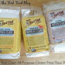 Brown Rice Flower - make your own all purpose gluten free flour what the fork
