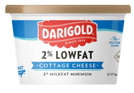 cottage cheese 2 low fat 16oz darigold
