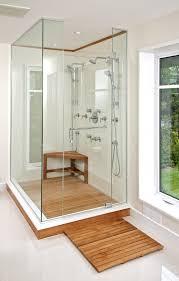 bathroom design great teak shower mat for cozy shower floor