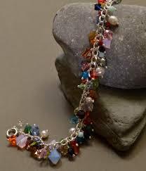 bracelet charm crystal images Silver and swarovski crystal charm bracelet hungry cat cafe jewelry JPG