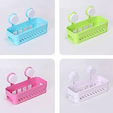 Bathroom Shelf Organizer by Plastic Bathroom Shelf Kitchen Storage Box Organizer Basket With