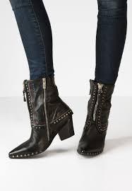 discount biker boots a s 98 airstep biker boots für cheap schwarz women ankle boots
