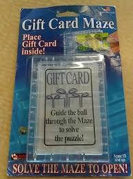 gift card maze gift card maze holder gift card ideas
