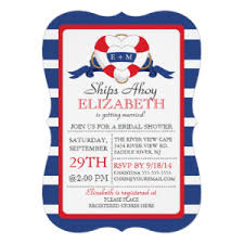 nautical bridal shower invitations personalized party invitations announcements party invitations