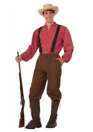 men costumes pioneer costume