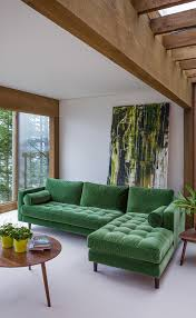 Mid Century Modern Sectional Sofas by Best Of Green Sectional Sofa Sofa Ideas